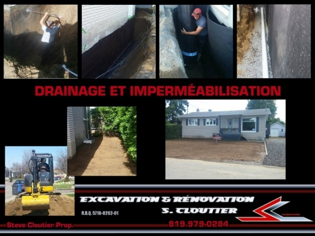Excavation & Renovation S Cloutier Shawinigan (819)979-0284