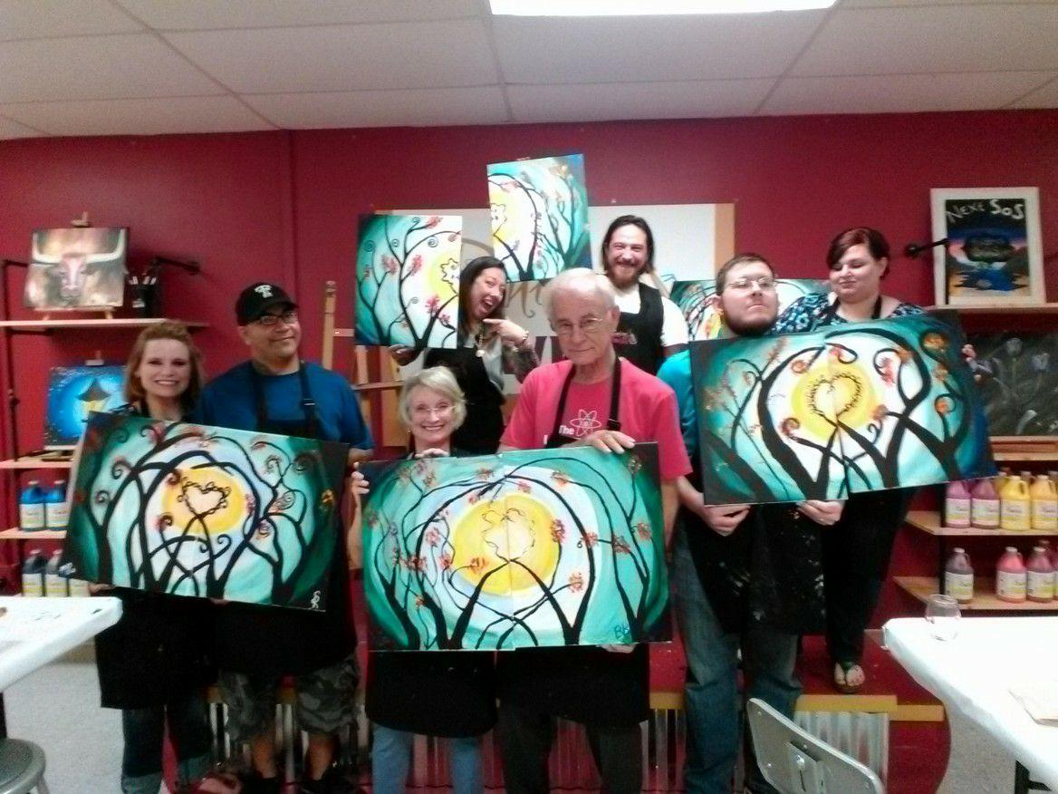 Painting with a twist san angelo texas for Painting with a twist san diego