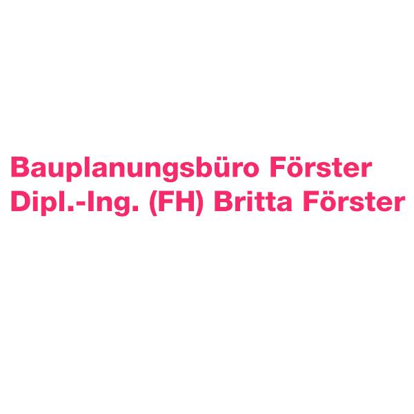 Bauplanungsbüro Förster Dipl.-Ing.(FH) Britta Förster