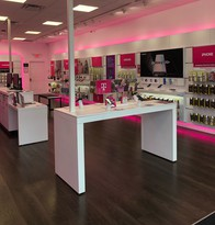 Interior photo of T-Mobile Store at Farmington & Little Falls Bridge, Rochester, NH