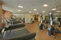 State of the art cardio equipment with individual televisions.