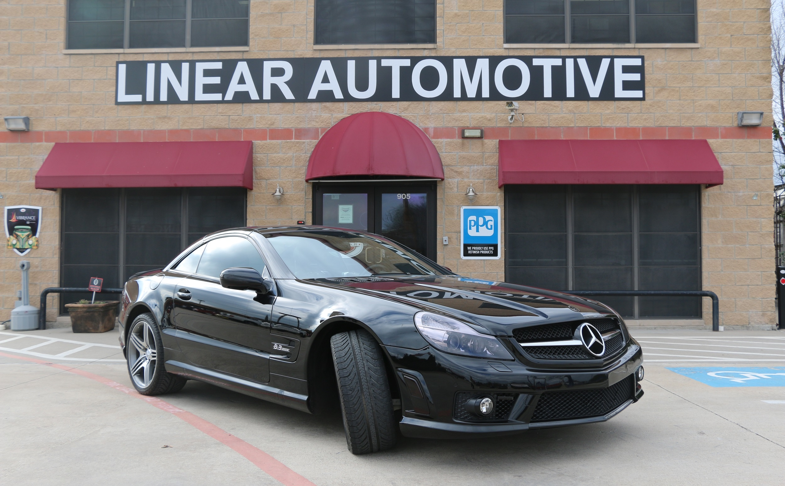 Linear automotive plano texas tx for Plano mercedes benz service