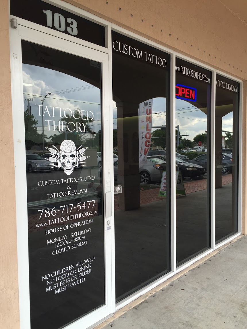 Tattooed Theory Custom Inc Coupons Near Me In Hialeah Gardens 8coupons