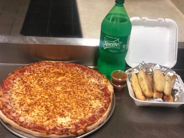 Pizza & Bread Sticks Deal