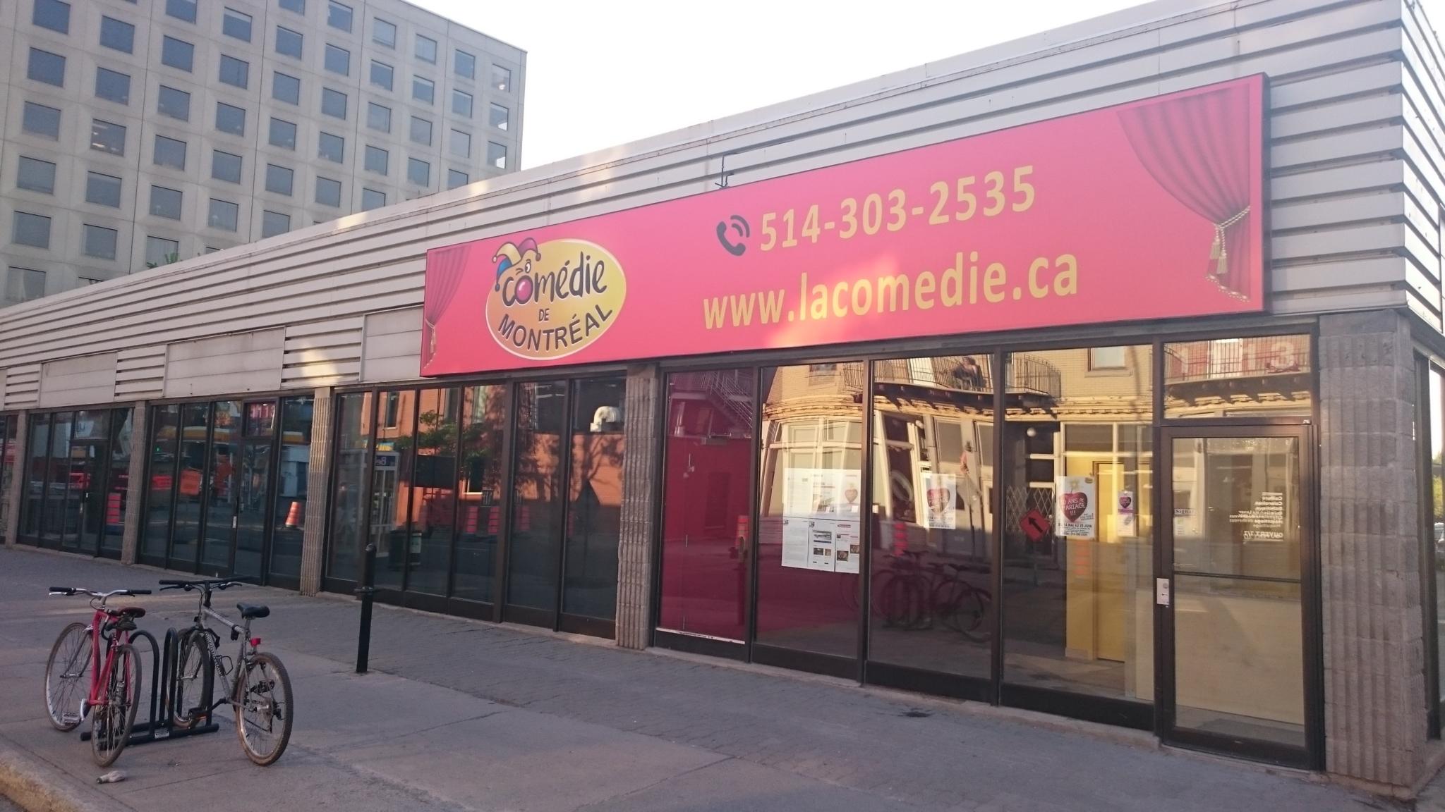 La Comédie de Montréal à Montréal