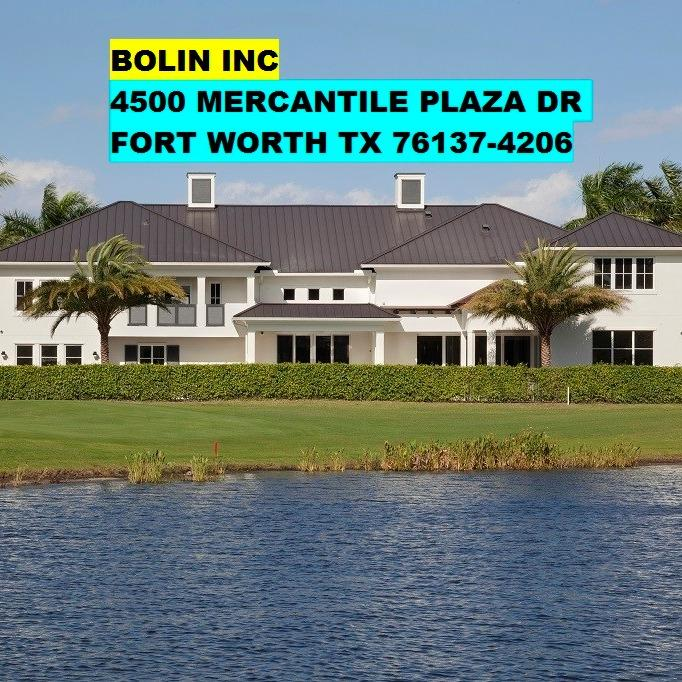 BOLIN INC - Fort Worth, TX 76137 - (817)732-9630 | ShowMeLocal.com