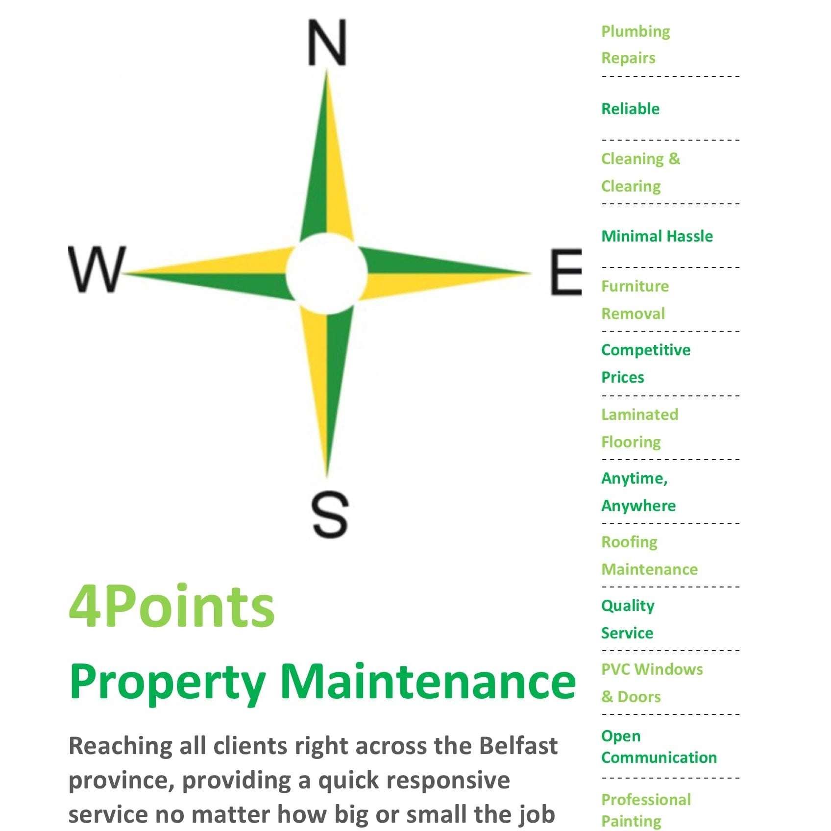 4Points Maintenance - Belfast, County Antrim  - 07805 412144 | ShowMeLocal.com