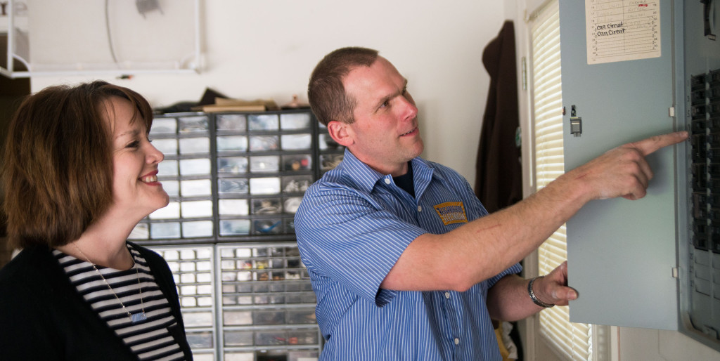The Neighborhood Electrician is pleased to offer complete electrical services for your home or small business.
