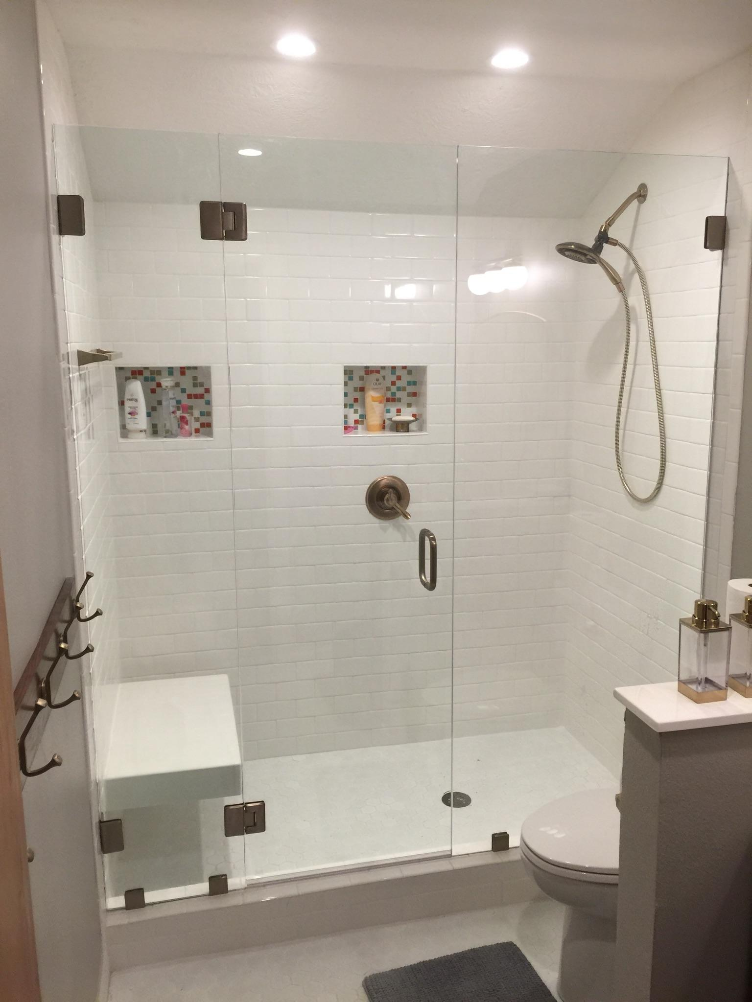 Amen glass in college station tx 77845 for Bathroom remodeling college station tx