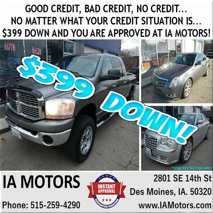 IA Motors - Des Moines, IA - Auto Dealers