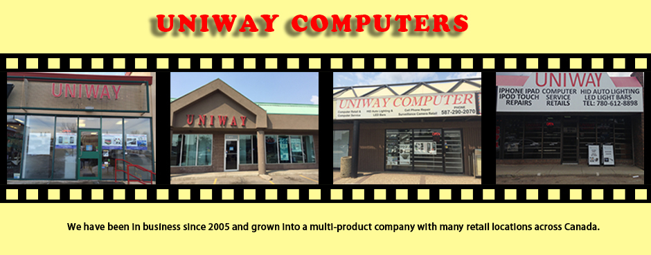 Uniway Computers in Regina