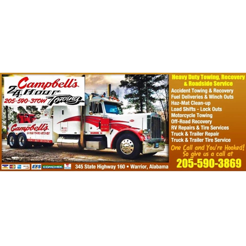 Campbell's 24 Hour Towing