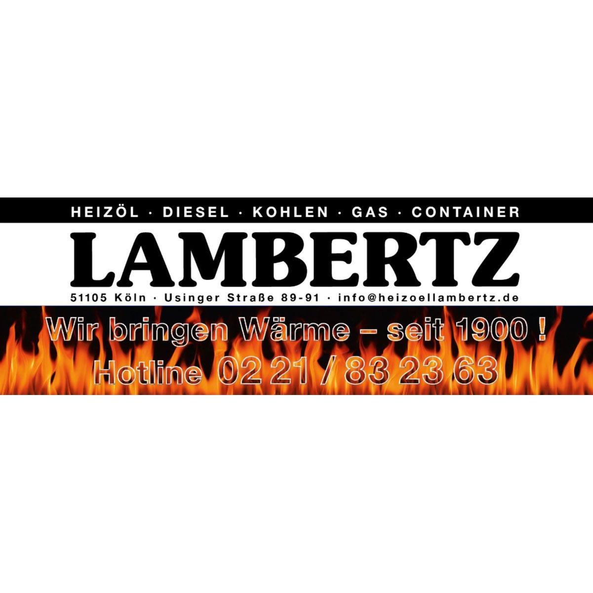Bild zu Brennstoff-Fachhandlung Christian Lambertz Köln in Köln