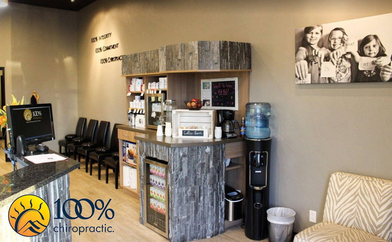 From the initial evaluation to the end of the treatment plan and continued wellness care, 100% Chiropractic puts the patient first at every turn. Stop by the Parker office and let us prove it to you!
