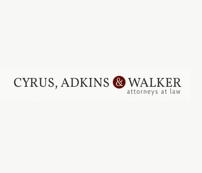 Cyrus, Adkins & Walker, Attorneys at Law