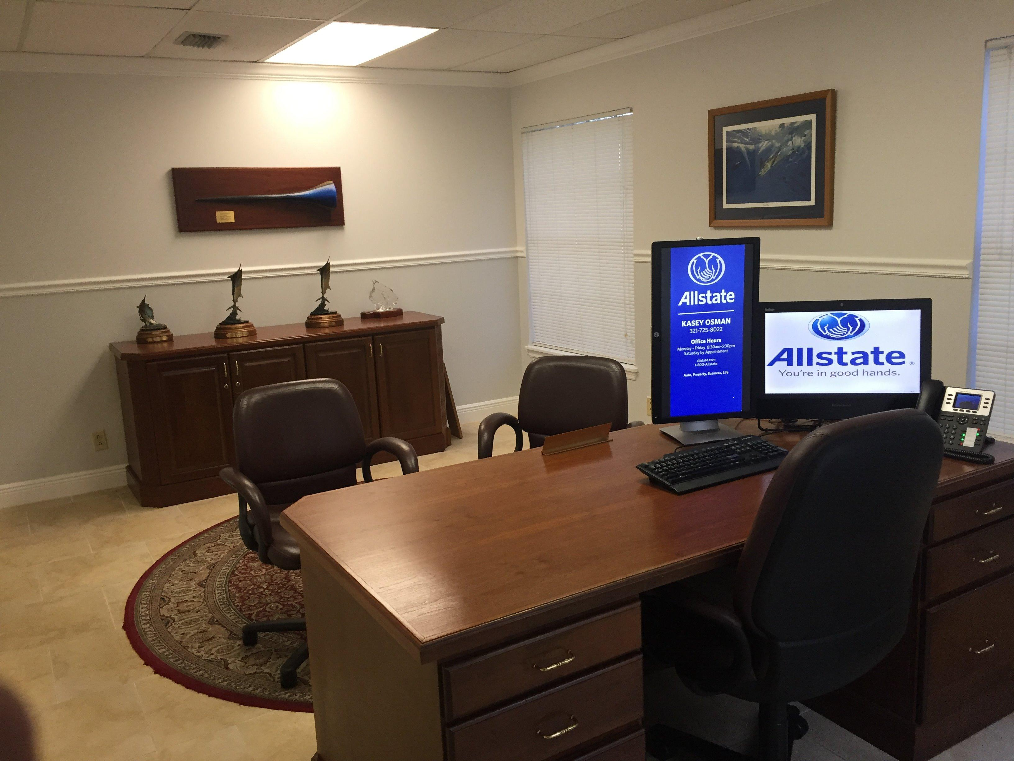 allstate insurance agent kasey osman west melbourne florida fl. Black Bedroom Furniture Sets. Home Design Ideas