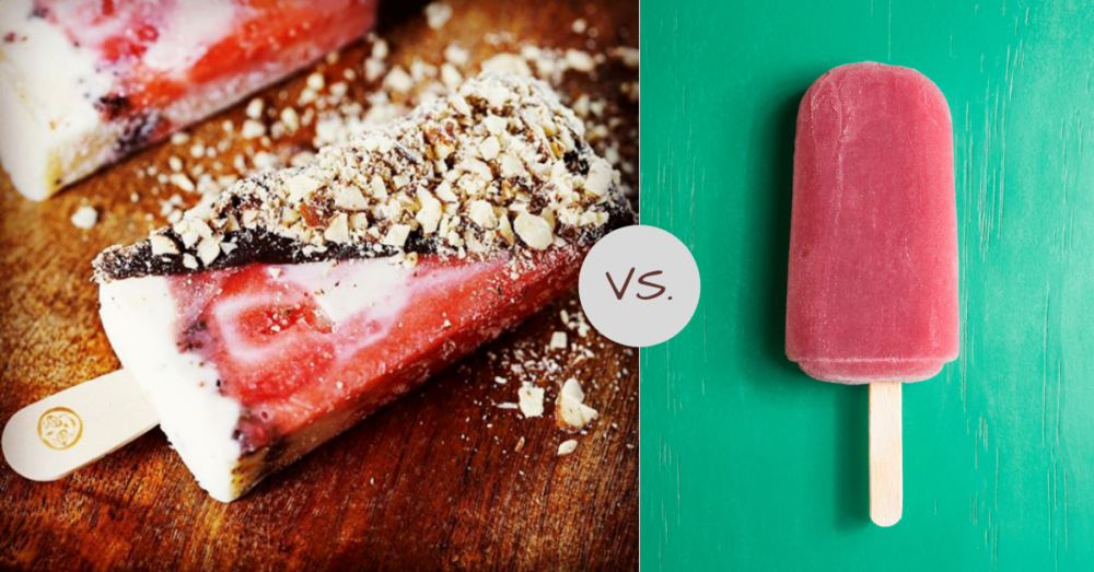 Paletas v. popsicles: 3 key differences  If you're like many people in the US, the idea of a popsicle probably involves bright colors, water, and artificial flavors. While these popsicles, also called ice pops, are a summertime classic and have their nostalgic merits, there are other desserts that have just as much to offer in terms of interest, flavor, and quality. Specifically, the Mexican Paleta, which features fresh frozen fruit and sometimes real chocolate, offers a truly exciting experience.