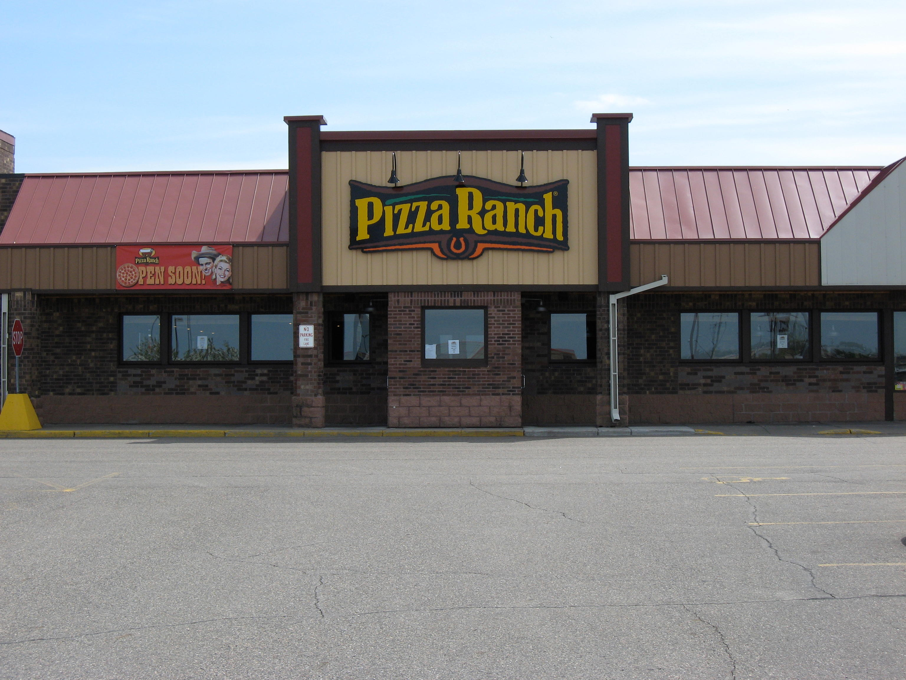 Pizza ranch is an all you can eat buffet with fries chicken and pizza. The pizza is tasty and you can request one of their specialty flavors if you want (I always ask for their buffalo chicken one). If you eat here regularly, you can save money with their free pizza club card/5(18).