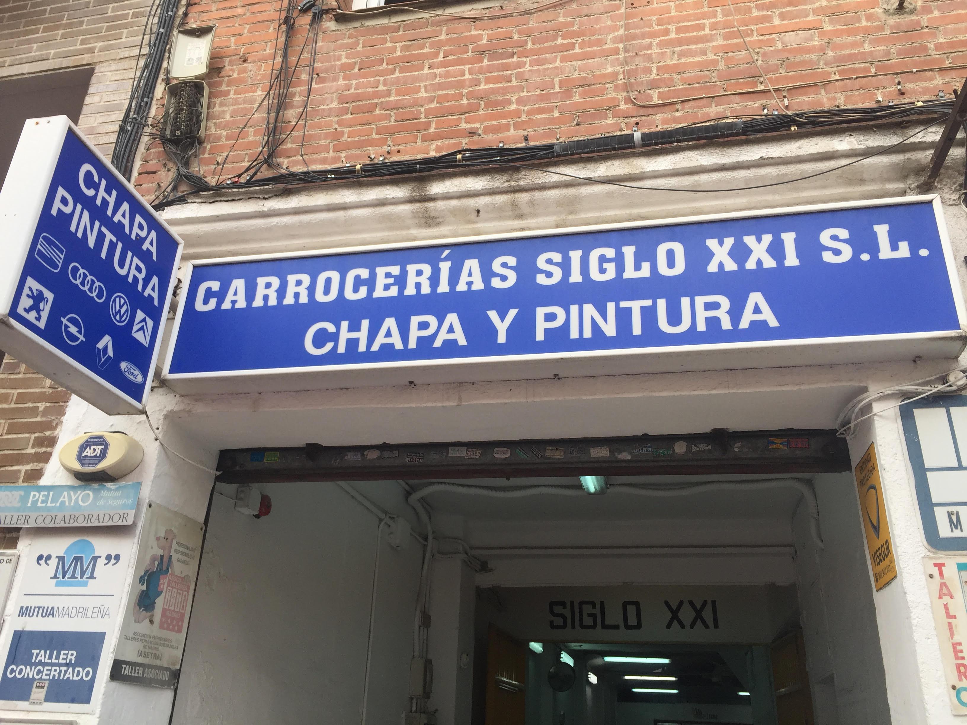 CARROCERÍAS SIGLO XXI