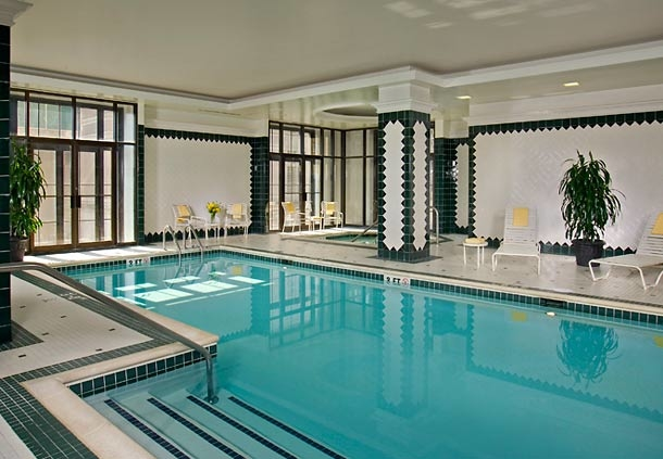 Take a dip in our stunning indoor pool.