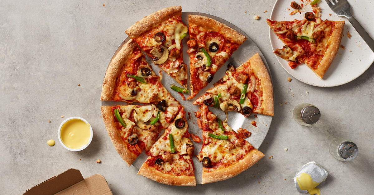 Papa John's The Works Pizza Papa John's Pizza Burnley 01282 430033