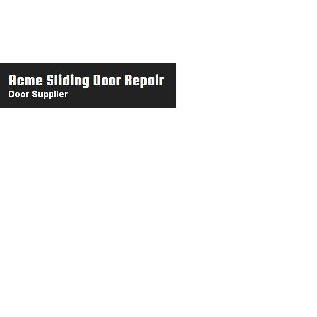 Acme Sliding Door Repair