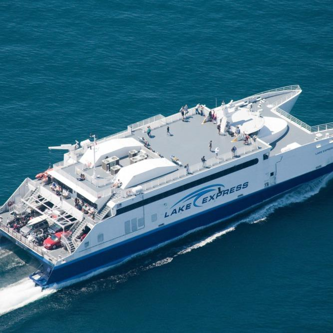 Lake Express High-Speed Ferry - Muskegon, MI - Boat Excursions & Charters