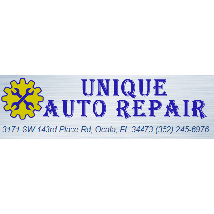 Unique Auto Repair - Ocala, FL - Auto Body Repair & Painting