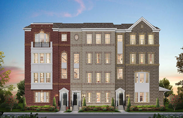 Century Row Townhomes & Condos by Pulte Homes