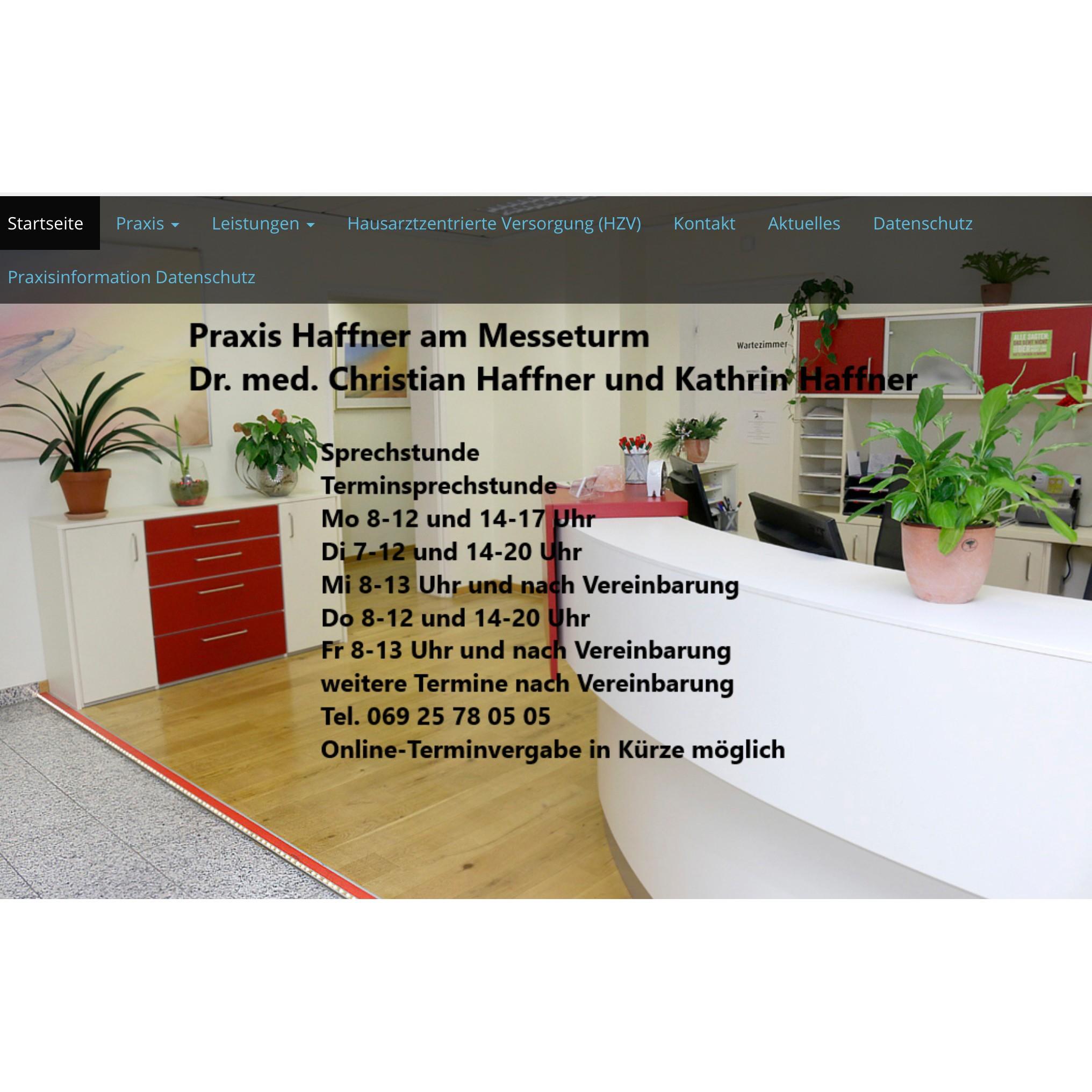 Bild zu Christian Haffner + Kathrin Haffner Fachärzte für Allgemeinmedizin in Frankfurt am Main