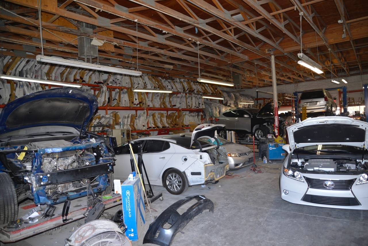 The collision service center in las vegas nv 89118 for German motors collision center marin street