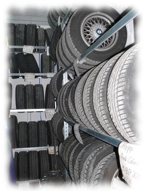 Reifenmontage/-einlagerung - Autoservice Roth München