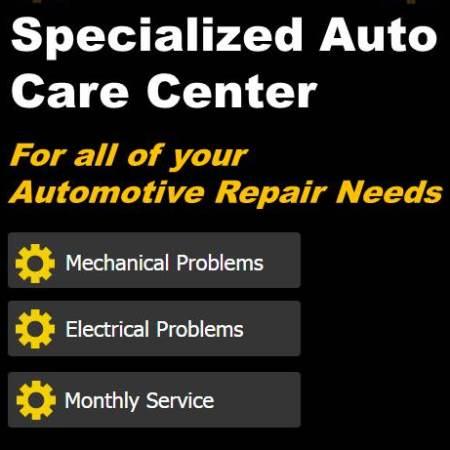 Specialized Auto Care Center