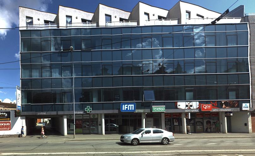 LÉKÁRNA LANCIER - Brno, Křenová 71