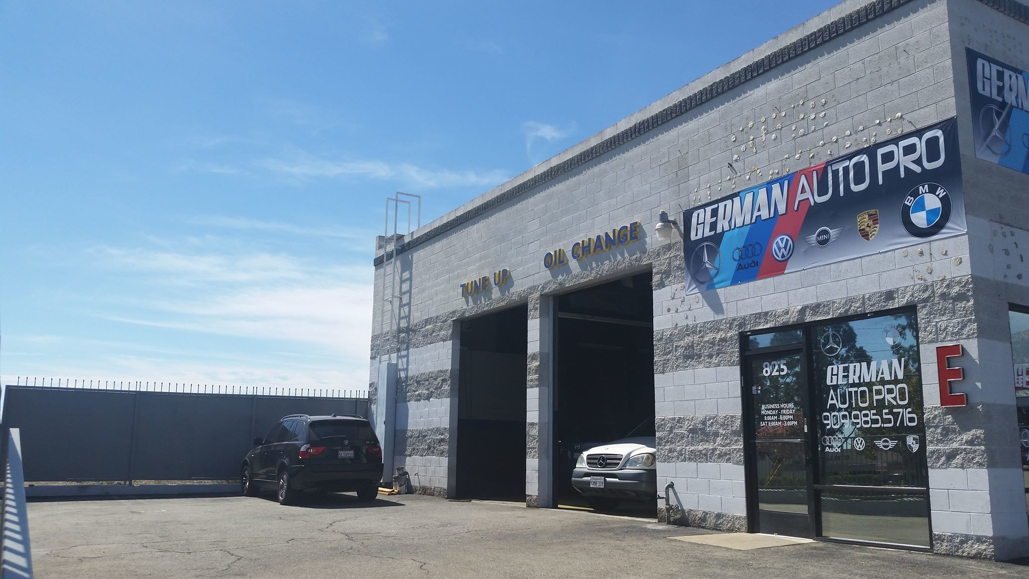 German auto pro corp upland california ca for German motors collision center