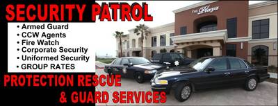 Protection Rescue Security Services - ad image