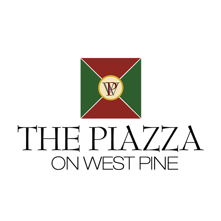Piazza on West Pine