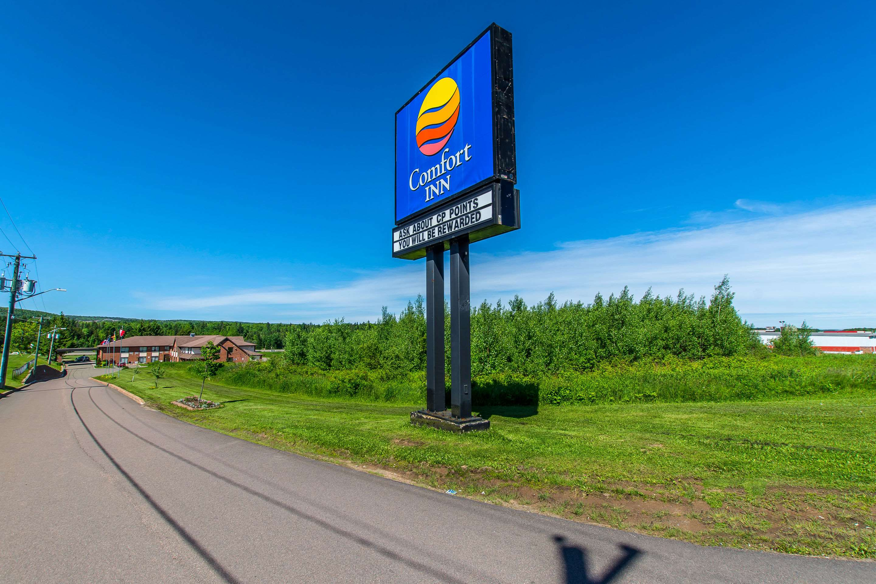 Comfort Inn Magnetic Hill in Moncton: Hotel exterior