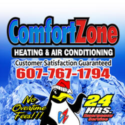 Comfort Zone Heating & Air - Pendleton, KY - Heating & Air Conditioning