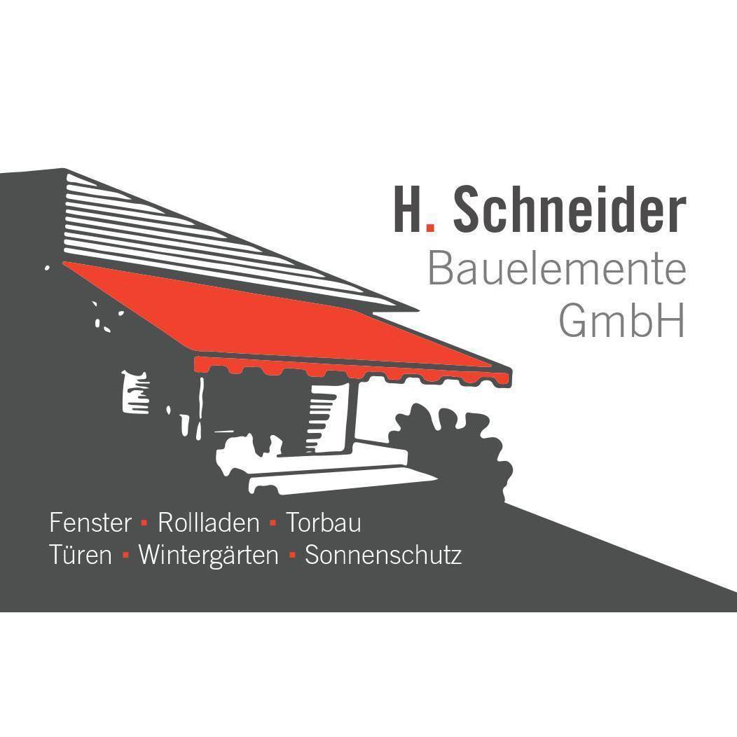 Bild zu H. Schneider Bauelemente GmbH in Kronberg im Taunus