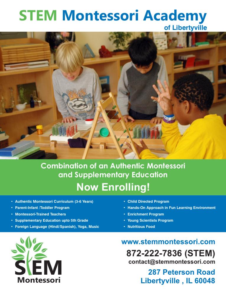Stem Montessori Academy Of Libertyville Ams Pathway