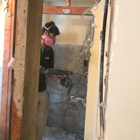 Mold Remediation in a Basement