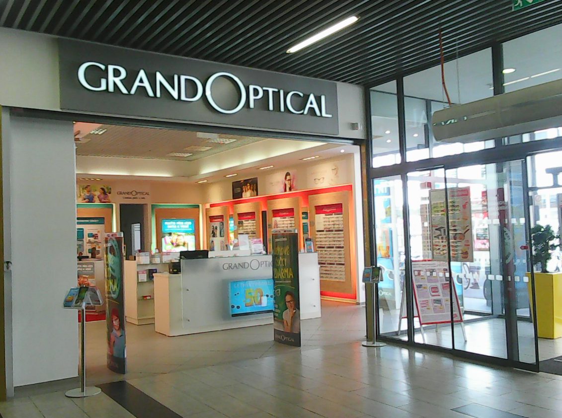 GrandOptical - oční optika Zlatá Brána