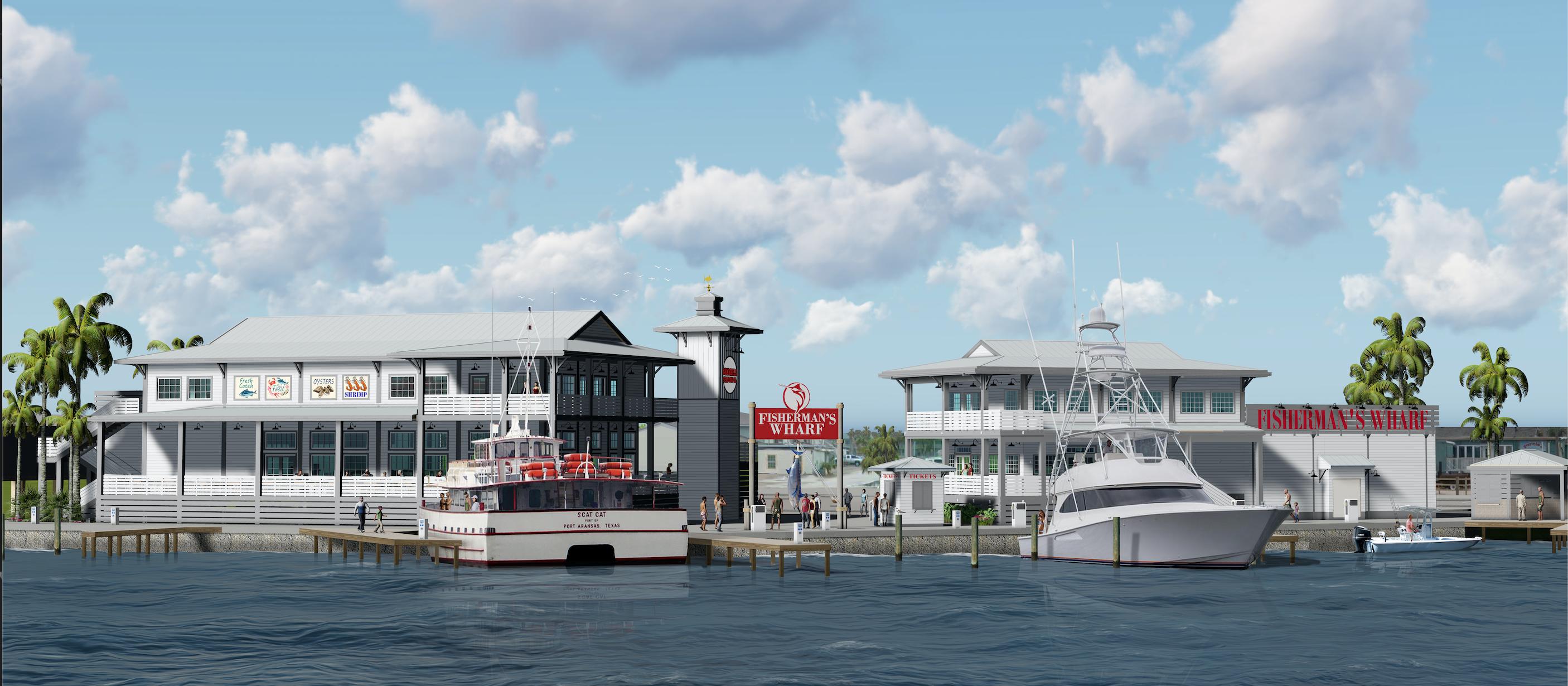 Port Aransas Fishermans Wharf LLC
