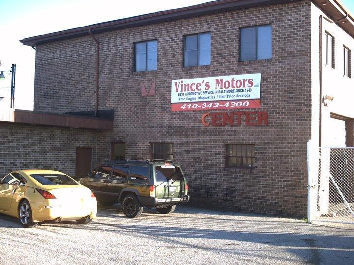Vince 39 s auto repair in baltimore md 21205 for Electric motor repair baltimore