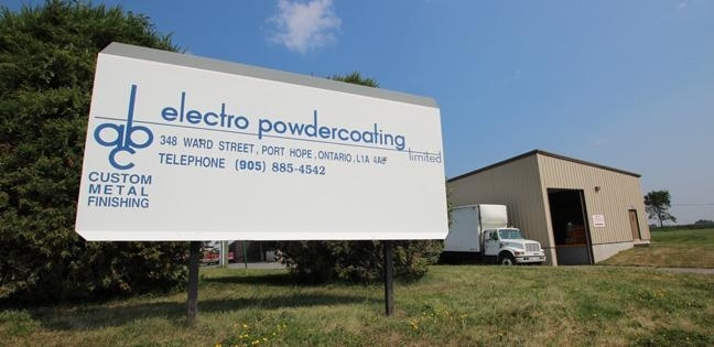 A B C Electro Powdercoating Ltd in Port Hope