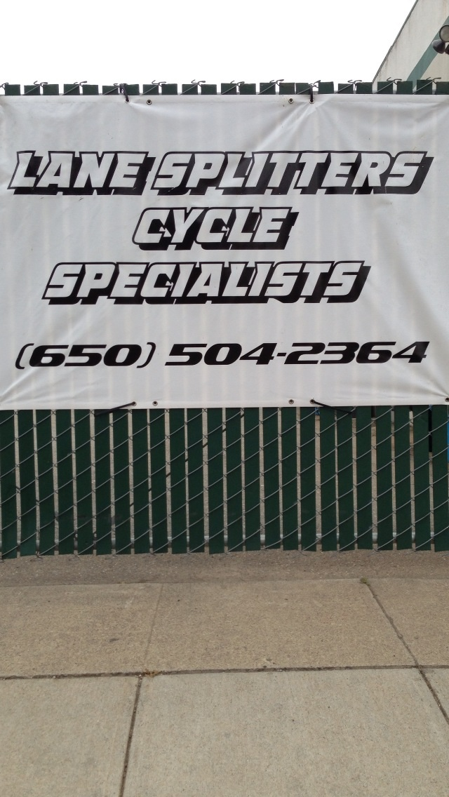 Lane Splitters Cycle Specialist - ad image