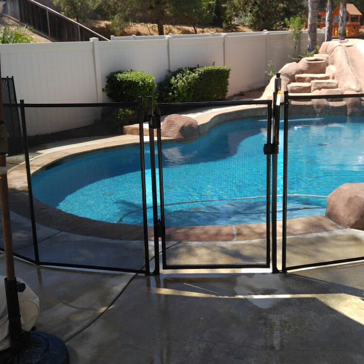 Don't loose your chance to get a mesh fence installed by Nathan's Pool Fence.
