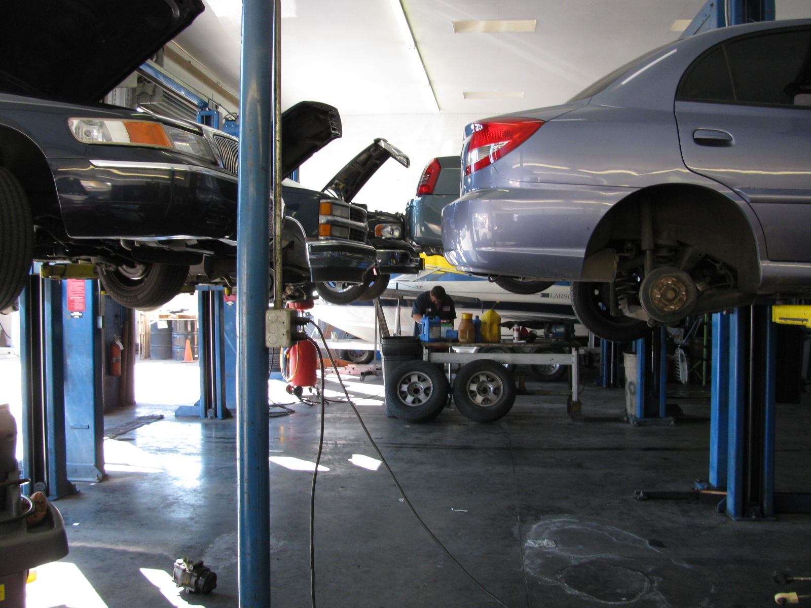 Thompson 39 S Auto Repair Towing In Mesa Az 85203
