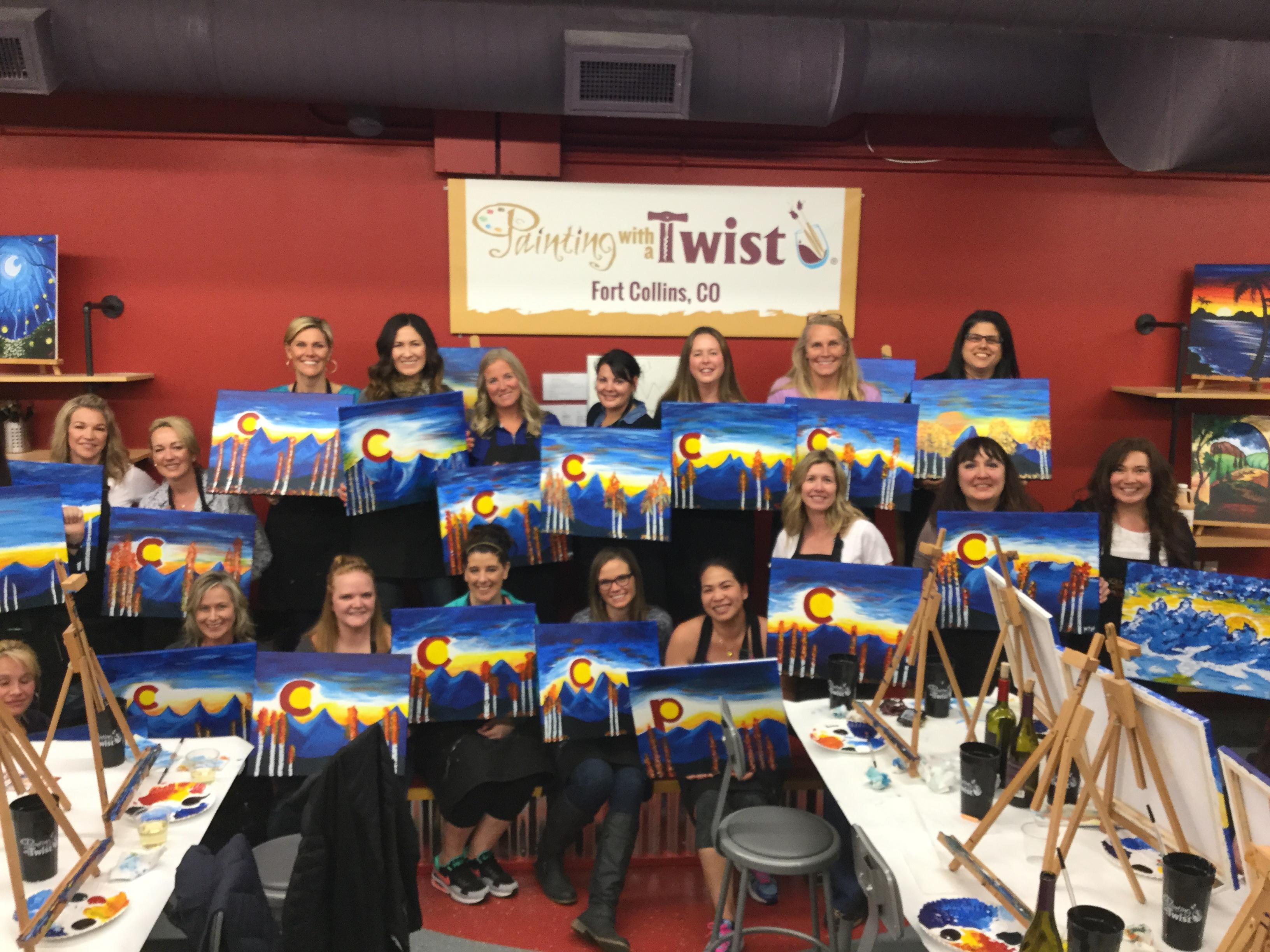 Painting with a twist coupons near me in fort collins for Painting with a twist chicago